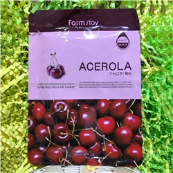 Маски Farm Stay Acerola Mask, 10 штук (78)