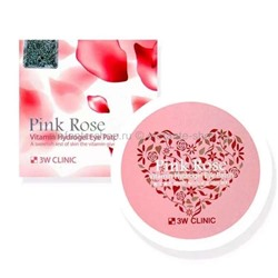 Патчи 3W Clinic Pink Rose Vitamin Hydrogel Eye Patch (78)